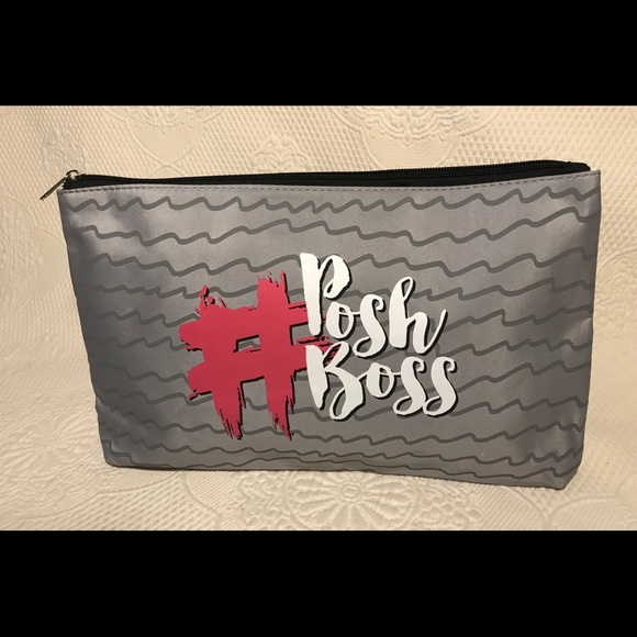 Posh Handbags - #POSH BOSS cosmetic bag